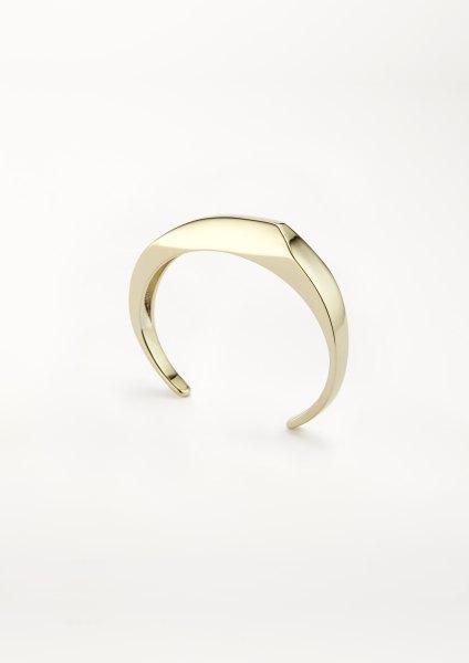 xenia bous jewellery Golden Stone 13 XXS Cuff gold silver