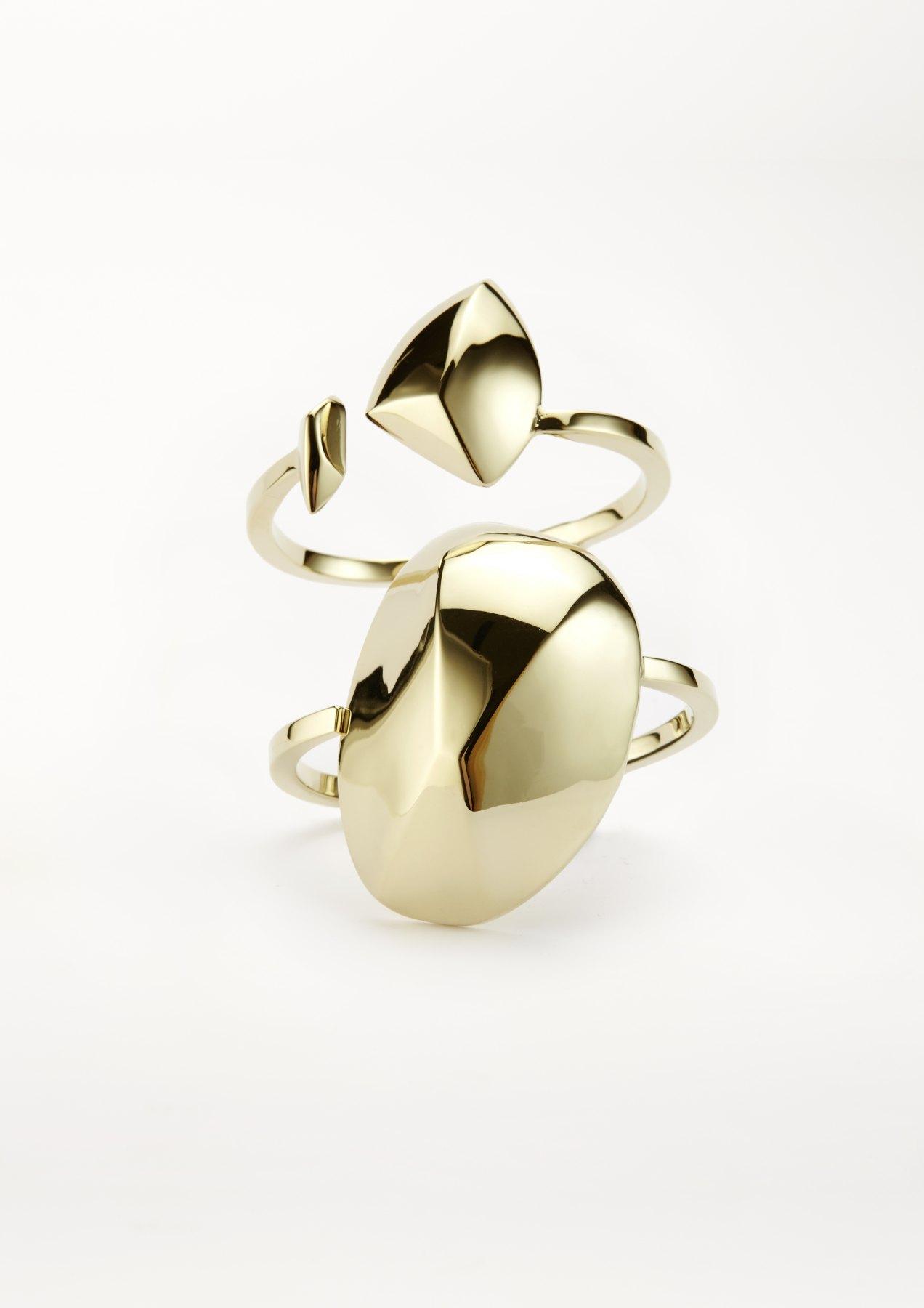 xenia bous schmuck Dancing Stone 10 Cuff gold silber