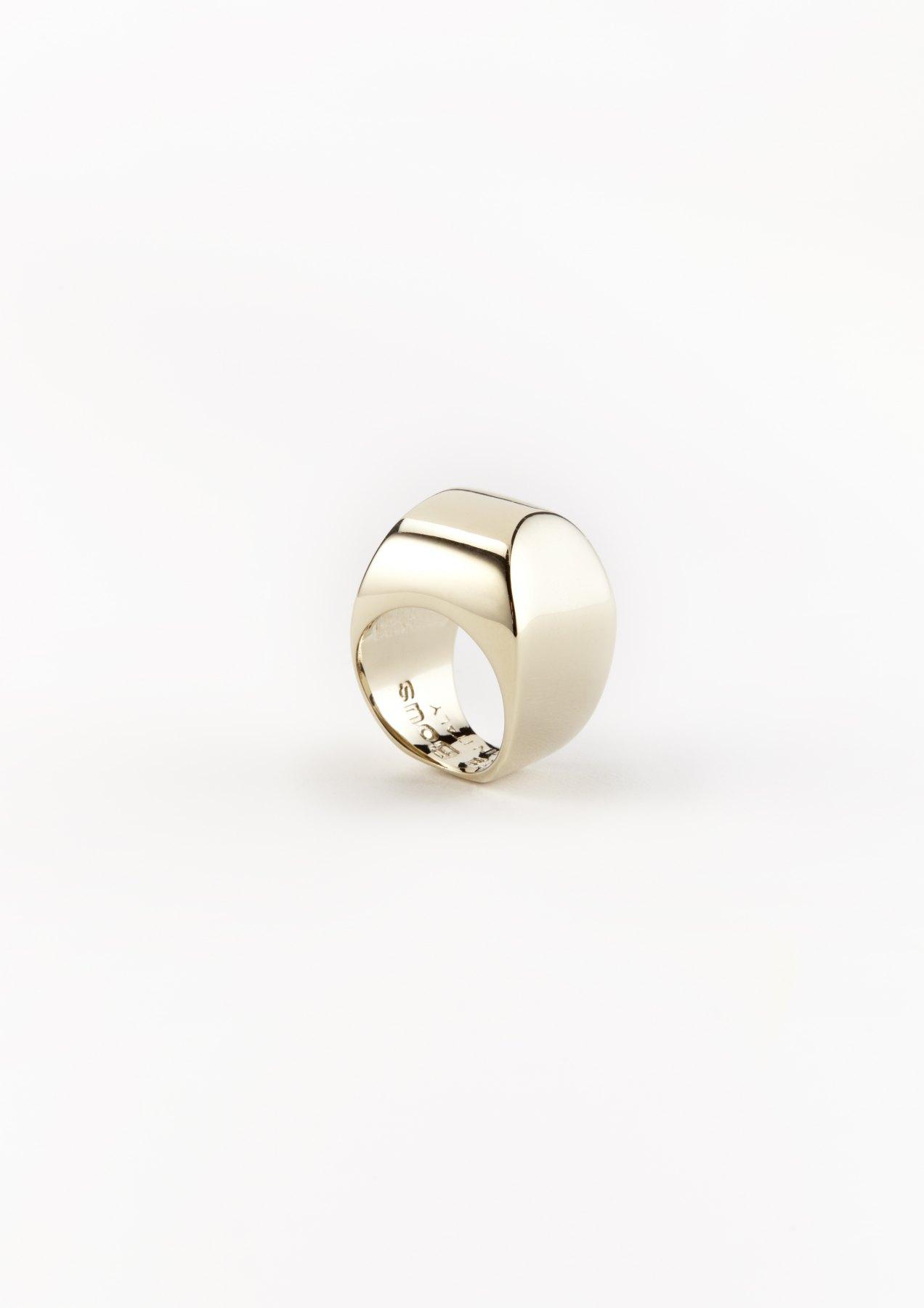 xenia bous schmuck Golden Stone 28 Ring gold silber